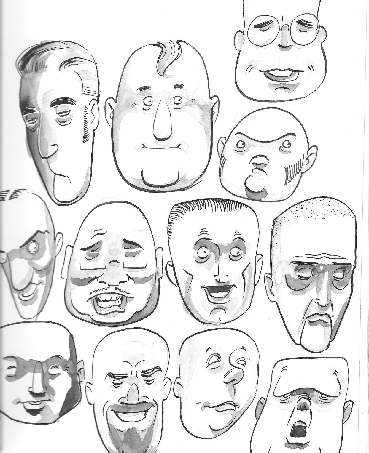 Inky Little Faces